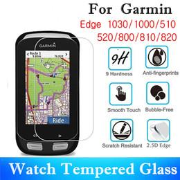 $enCountryForm.capitalKeyWord NZ - 10PCS Tempered Glass For Garmin Edge 1030 1000 510 810 820 Screen Protector 520 800 GPS Mountain Bike Protective Film