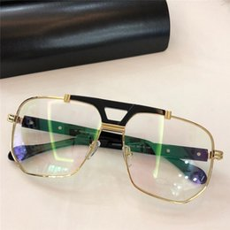 Optical quality frames online shopping - Fashionable popular optical glasses classic square frame top quality simple and generous style protection eyewear with box