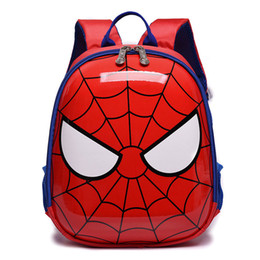 Toddler Children Backpack Cute Spiderman School Bag mochila infantil for  Kindergarten Boys Girls Kids EVA Iron Man Thor Backpack Y18120601 a683f1b2a7bf3