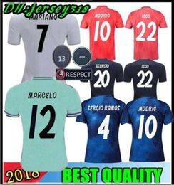 8b4b2b2e878 Sergio ramoS black jerSey online shopping - 19 Real Madrid soccer jersey  Asensio SERGIO MODRIC RAMOS