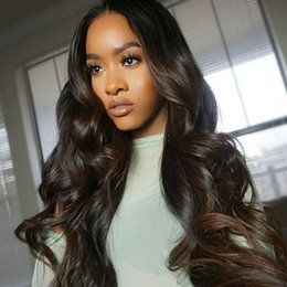 More Body Hair Australia - Lace Frontal Wig Pre Plucked With Baby Hair Body Wave Lace Front Human Hair Wigs For Women Brazilian Remy Wig Full Hair