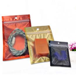 Package Aluminum Foil Zipper Australia - 100pcs 8.5*13cm translucent color silver foil self zipper package mylar bag transparent and aluminum foil resealable packing bag power bag
