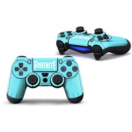 ps4 cover skin 2019 - Fortnite Game Sticker PVC For Sony Ps4 Controller Decal Skins For PS4 Gamepad Cover For PS4 Joypad Protector Retail chea