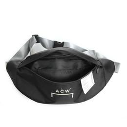 Mens waist online shopping - A Cold Wall Life Skateboards Designer Bag ss New ACW Mens Womens Shoulder Bag Unisex Mini Cute Waist Bags