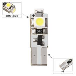 $enCountryForm.capitalKeyWord Australia - 100pcs Super Bright T5 W3W W1.2W 70 73 74 79 85 3 LED Car Dashboard Warming Indicator Wedge Light Bulb Auto Instrument Lamp 12V