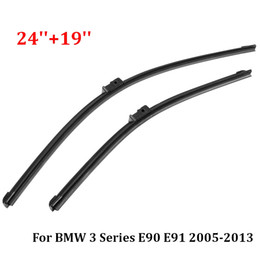 Bmw windscreen online shopping - Freeshipping Best Sale Set inch inch Right Front Window Windscreen Wiper Blades For BMW Series E90 E91 A073S