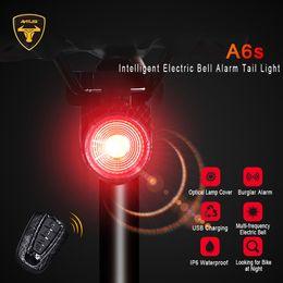 $enCountryForm.capitalKeyWord Australia - ANTUSI Remote Control Bike Tail Light USB Rechargeable Smart LED Waterproof Bicycle Light Rear Cycling Safety Warning Lumen Lamp #543901