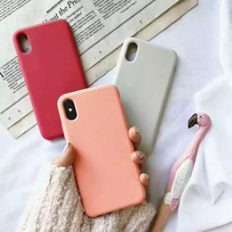 Wholesale silicon apple phone case resale online - New design Silicone Case For iPhone Plus Phone Silicon Cover For iphone X S Plus For Apple Retail Box