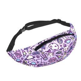 Ladies Pack Australia - Pink Cute Waist Pack Pouch Bags For Girl Ladies Fashion Fanny Packs Pocket Chest Shoulder Waist Bag Handing Hum Purse Belt Bag