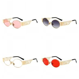 e06cd4374baf Punk eyeglasses frames online shopping - Modern Retro Oval Sunglasses  Hollow Punk Cat Eye Fashion Anti