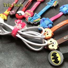 cable winder earphone cord holder Australia - Cartoon Cable Organizer Bobbin Winder Protector Wire Cord Management Marker Holder Cover For Earphone iPhone Samsung MP3 USB