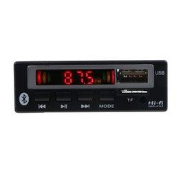 $enCountryForm.capitalKeyWord Australia - Bluetooth5.0 Mp3 Wma Wav Decoder Board 5V 12V Wireless Audio Module Color Screen Usb Tf Fm Radio For Car Accessories