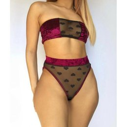 bra for gift Australia - Sexy lingerie Women female Underwear Babydoll Lace Bra Dress G-string Briefs for women Bra set new year gift for girls