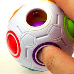 $enCountryForm.capitalKeyWord Australia - Rainbow Ball Magic Cube Speed Football Fun Creative Spherical Puzzles Kids Educational Learning Toys Games for Children Adult Gifts