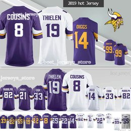 c9a4a5116cc Minnesota vikings jerseys online shopping - Adam Thielen MINNESOTA jerseys  VIKINGS Kirk Cousins Stefon Diggs Anthony