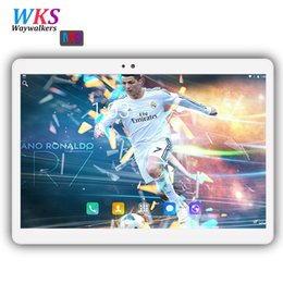 tablets free shipping 2019 - Free Shipping 10 inch Octa Core tablet Android 7.0 4GB RAM 64GB ROM 1920 * 1200 IPS Dual SIM card Smart tablets pcs MID