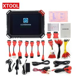 Function Connectors Australia - XTOOL EZ500 Heavy Duty Truck Diesel Full System Scanner Professional Truck Diagnostic Tool with Special Function Same As PS80HD