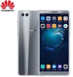 Mobile Smartphone Digital Camera Australia - Original Huawei Nova 2S Android 8.0 Mobile Phone 6.0 inchFull View Screen 2160*1080pix Smartphone Octa Core 4 Cameras Fingerprint ID NFC