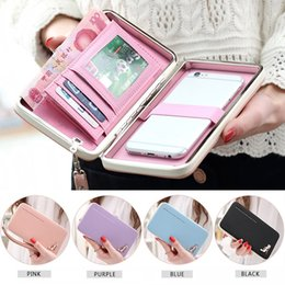 $enCountryForm.capitalKeyWord Australia - Lovely Lady Wallets Women Long Wallets Purses Clutch Bags Phone Case For iPhone 6 Plus Lady Cute Coin Purse WML99