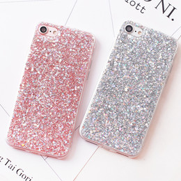 $enCountryForm.capitalKeyWord Australia - Luxury Shinning Glitter Cases For iphone 6 6S 8 Plus X 5SE 5 5S Soft Love Heart Phone Silicon TPU Capa Fundas for iPhone 7 7Plus