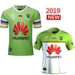 Raider White Australia - 2019 2020 NUEVO TOP NRL Jerseys de rugby Raber de Canberra Raiders 2019 Raiders camiseta de rugby tamaño S-3XL GRATIS barco más rápido