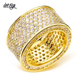 9311e7e15c62 ... Anillos para el partido chapado en oro con cristal de circón cúbico  Anillo de dedo joyería de moda de alta calidad Envío gratis tamaño completo  SJ07161