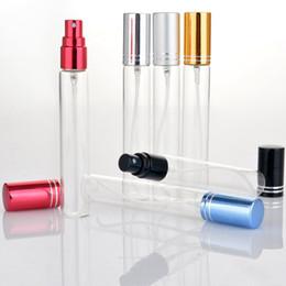 $enCountryForm.capitalKeyWord Canada - 15ml Thin Glass Perfume Bottle Refillable Sample Test Vials Clear Glass Spray Bottle Thin Glass Tube F3046