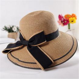 dafc7dcad3fd1 Garden Ties Australia - Fashion Big Bow Tie Sunscreen Hat Summer Outdoor  Sun Hat Women Beach
