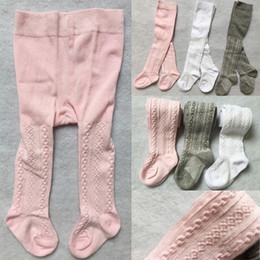 $enCountryForm.capitalKeyWord Australia - baby Spring Autumn Tights Cotton Baby Girl Pantyhose Kid Infant Knitted Collant Tights Soft Infant Clothing