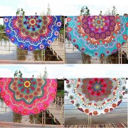 $enCountryForm.capitalKeyWord Australia - 4 colors Big Lotus flower beach shower towel cloth summer swimming bikini cover veil shawl cape outdoor yoga mat table cover