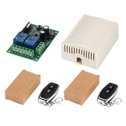 $enCountryForm.capitalKeyWord UK - 433Mhz Universal Wireless Remote Control Switch AC 85V 110V 220V 2CH Relay Receiver Module & RF 433 Mhz for Light Switch