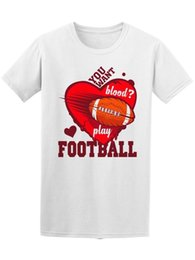 Play Tee Australia - Want Blood? Play Football Men's Tee -Image by Shutterstock