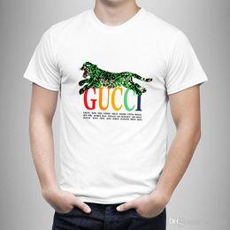 $enCountryForm.capitalKeyWord Australia - New Luxurious Italy Brand Tshirt Short Sleeve Crewneck Tee Breathable Men Women Lovers Fashion Leopard Print Outdoor Streetwear T-shirts