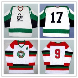 Discount hockey player - Custom Men's XS-5XL Quebec Aces White Hockey Jersey Stitch Sewn Any Player or Number Free Shipping