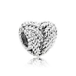 $enCountryForm.capitalKeyWord Australia - NEW 100% 925 Sterling Silver Charming Retro Elegant 797618 ICON OF NATURE HEART CHARM Women Gift Jewelry Original 2018 Gifts