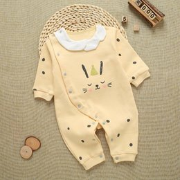 Brand Factory Clothes Australia - 2019 new baby rompers clothing spring newborn onesies cotton romper cotton baby onesies baby clothes factory direct sales