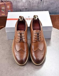 $enCountryForm.capitalKeyWord Canada - Carved Brown Business Shoes 3013 Men Dress Shoes Moccasins Loafers Lace Ups Monk Straps Boots Drivers Real Leather Sneakers Shoes