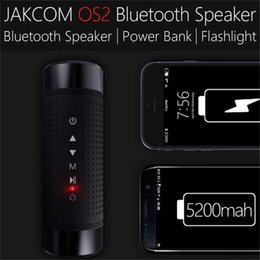 nfc power bank waterproof bluetooth Australia - Jakcom OS2 Outdoor Bluetooth Speaker Waterproof 5200mAh Power Bank Bicycle Portable Subwoofer Bass Speaker LED light with Bike Mount