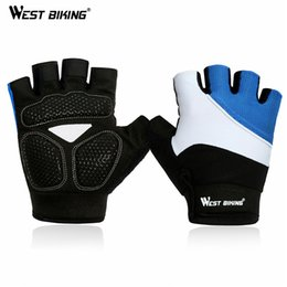 $enCountryForm.capitalKeyWord Australia - Wholesale-Half Finger Cycling Gloves Mens Summer Sports Motorcycle Gloves Luvas Guantes Ciclismo Mountain Bikes Bicycle Gloves Accessories