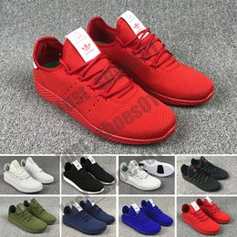 sneakers for jogging Canada - 2020 New Pharrell Williams Tennis Hu For Men Sneakers Women RACER Fashion Athletic Sport Shoe Hot Corss Hiking Jogging Walking Outdoor T48