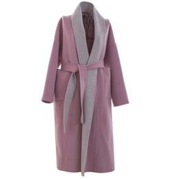 Abrigos lana mujer online