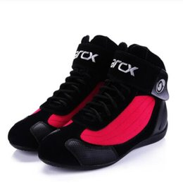 Chopper Cruiser online shopping - Motorcycle Boots Moto Riding Boots Genuine Cow Leather Motorbike Biker Chopper Cruiser Touring Ankle Shoes Motorcycle Shoes