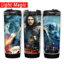 $enCountryForm.capitalKeyWord Australia - Game fo thrones coffee Stainless Steel Bottle Double layer anti-scalding Water Bottle best gift for friends or your kids