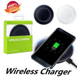 charger samsung quality Australia - High Quality Universal Qi Wireless Charger fast Charging Adapter Receiver For Samsung Note10 Galaxy s10 mobile pad with package usb cable