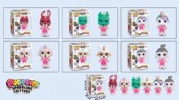 Опт Куклы ПВХ Kawaii Детские игрушки Аниме Фигурки Реалистичная Reborn куклы для девочек детей игрушкиединорогслепое окно Funko поп