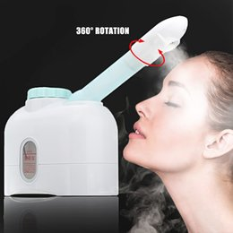 steamer beauty NZ - Facial Steamer Ozone Sprayer Mist Sprayer Spa Steaming Machine Beauty Instrument Essential Oil Massage Face Skin Care Tools SH190727