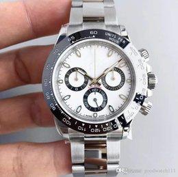 2018 design de luxo 40mm de discagem 116509 relógio mecânico automático dos homens, sem cronógrafo relógio dos homens em Promoção
