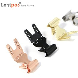 $enCountryForm.capitalKeyWord Australia - Metal price tag clip label holder stand paper name card display pop clip picture note pos stand for retailing price display