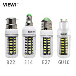 Energy Saving 12v Bulbs Australia - 2X lampadina led e14 E27 B22 GU10 7W super Ac Dc 12 24 36 volt corn bulb 110v 220v No flicker energy saving lamp 12v 24v 36v 48v