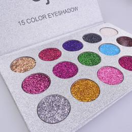 $enCountryForm.capitalKeyWord UK - Wholesale 15 Colors Eyeshadow Palette Diamond Plates Golden Gloss Powder Sexy Eye Shadow Best Long Lasting Shimmer Metallic Makeup Pallete
